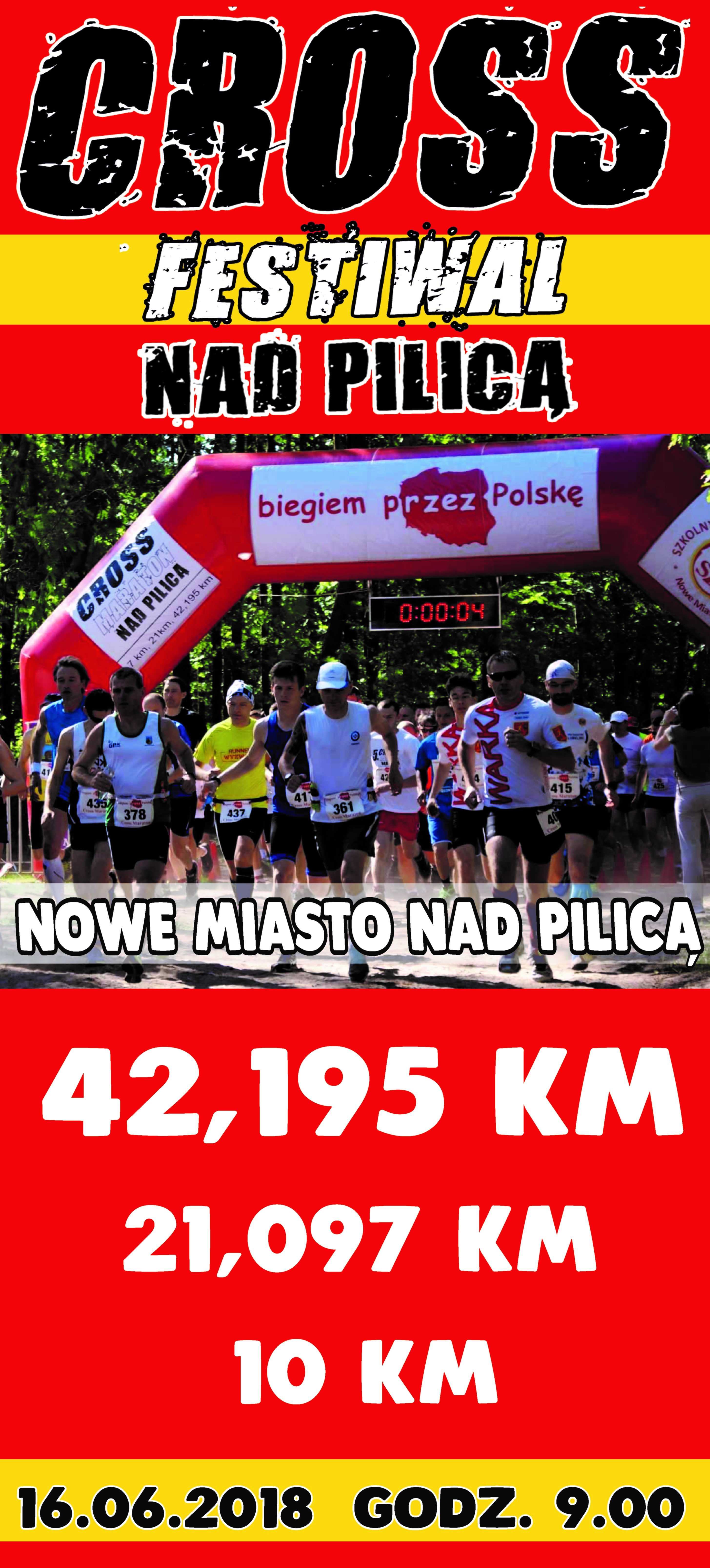 Cross Festiwal nad Pilicą 2018